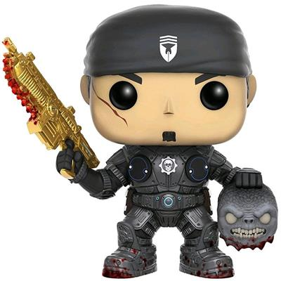 Funko Pop! Games Marcus Fenix (w/ Head) - Gold Lancer