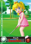 Amiibo Cards Mario Sports Superstars Peach - Golf