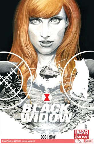 Marvel Comics Black Widow (2014 - Present) Black Widow (2014) #3 (Jones Variant) Icon