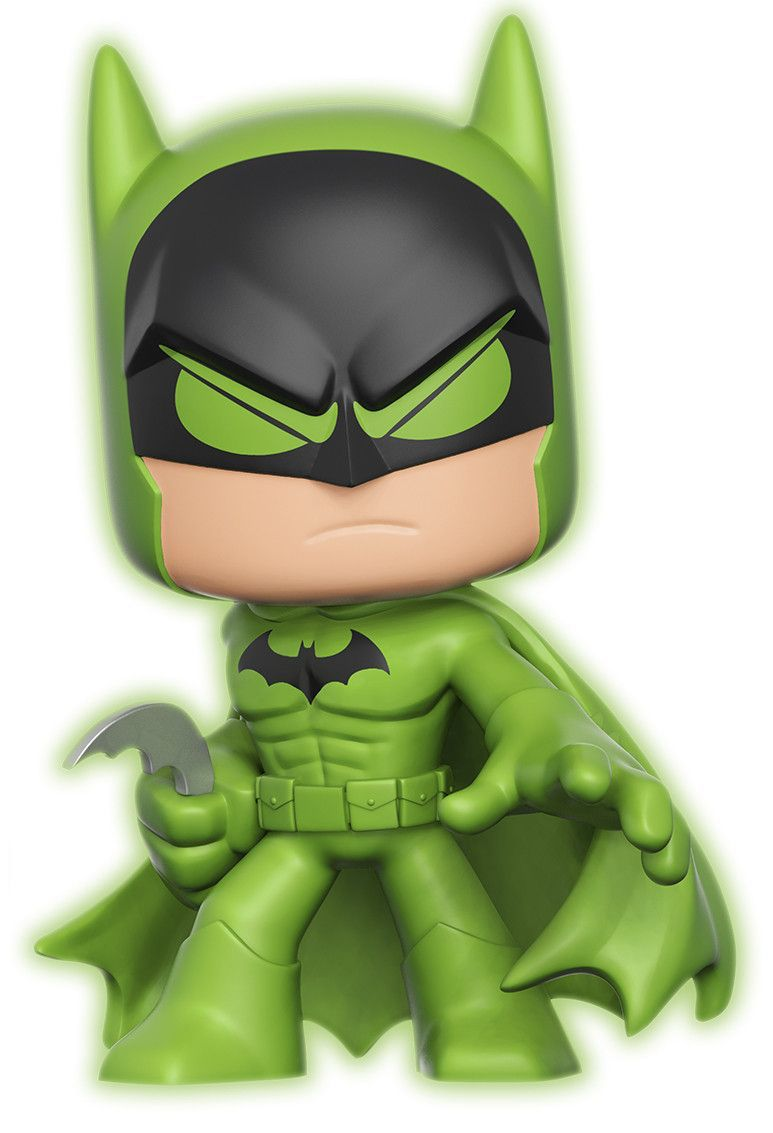 Funko - Other Super Deluxe Batman (Green Glow) Icon Thumb