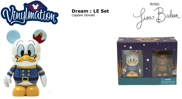Vinylmation Open And Misc Disney Cruise Line Captain Donald