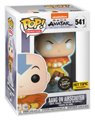 Funko Pop! Animation Aang on Airscooter - Chase Stock