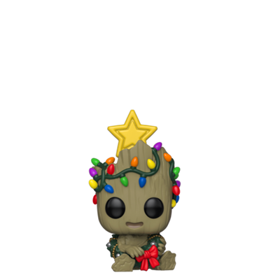 Funko Pop! Marvel Groot Wreath