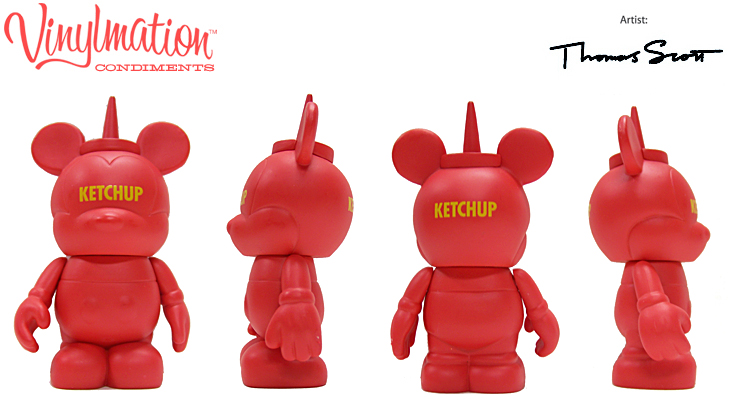 Vinylmation Open And Misc Condiments Ketchup