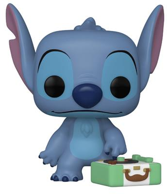 Funko Pop! Disney Stitch with Record Player (Chase) Icon