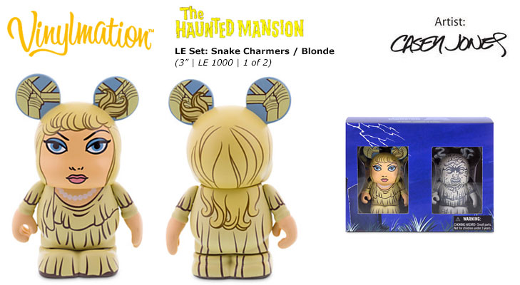 Vinylmation Open And Misc Snake Charmers Blonde