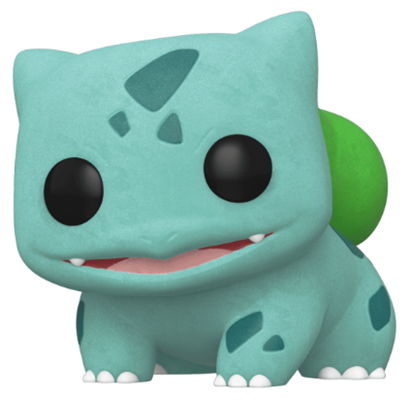 Funko Pop! Games Bulbasaur (Flocked)