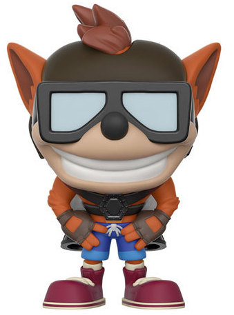 Funko Pop! Games Crash Bandicoot (w/ Jetpack) Icon