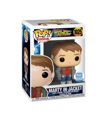 Funko Pop! Movies Marty in Jacket Stock