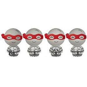 Dorbz Television Teenage Mutant Ninja Turtles (Black & White) (4-Pack)