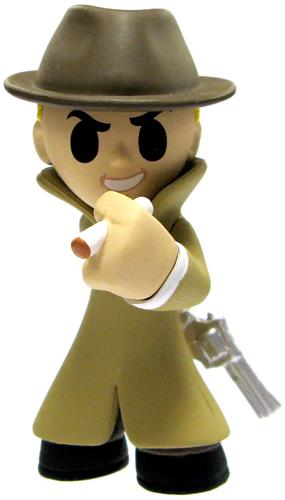 Mystery Minis Fallout Mysterious Stranger Icon