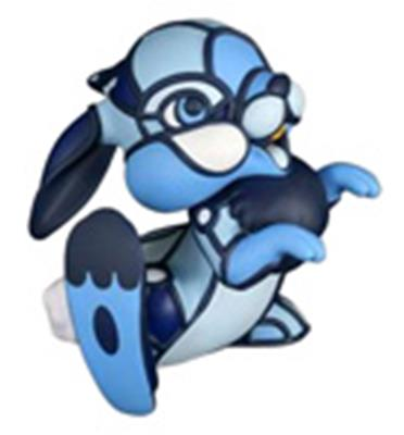 Kid Robot Art Figures Thumper (Blue)