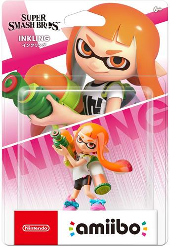 Amiibo Super Smash Bros. Inkling Girl Stock