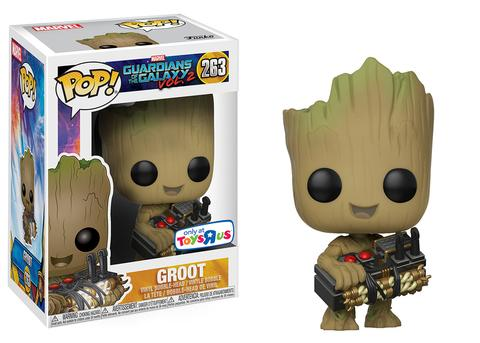 Funko Pop! Marvel Groot (w/ Bomb) Stock