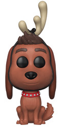 Funko Pop! Movies Max the Dog (w/ Antlers)