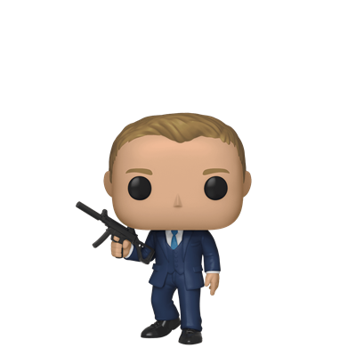 Funko Pop! Movies Daniel Craig (Quantum of Solace)