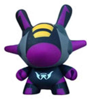 Kid Robot Special Edition Dunny Flight (Purple)