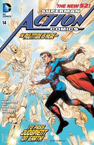 DC Comics Action Comics (2011 - 2016) Action Comics (2011) #14A Icon