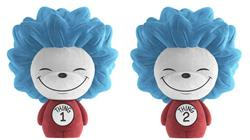 Dorbz Dr. Seuss Thing 1 & Thing 2 (Flocked)