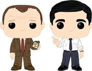 Funko Pop! Television Toby vs. Michael (2 Pack)
