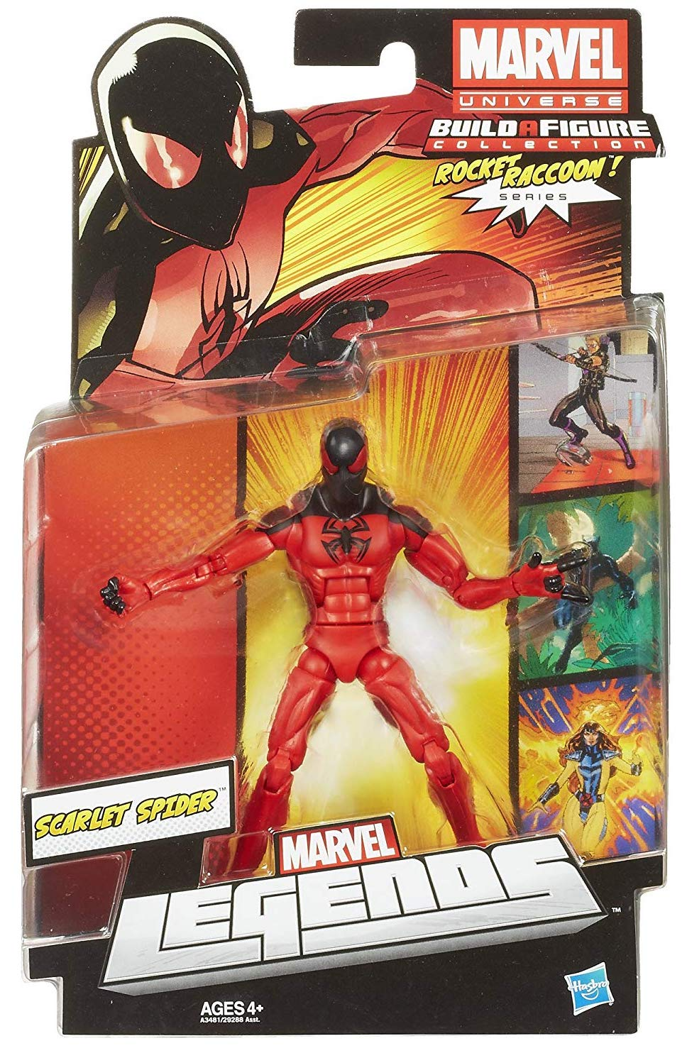 Marvel Legends Rocket Raccoon Series Scarlet Spider