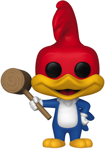 Funko Pop! Animation Woody Woodpecker (w/ Mallet) - CHASE