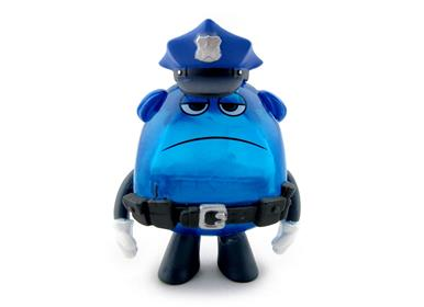 Mystery Minis Inside Out Mind Worker Cop Dave Stock