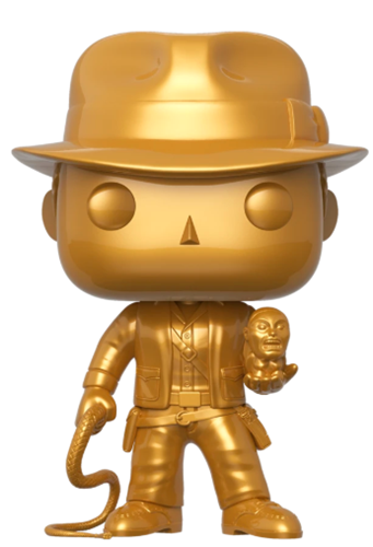 "Funko Pop! Disney Indiana Jones (Gold) (10"")"