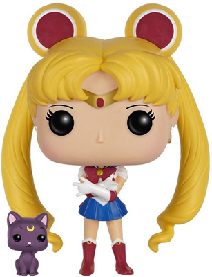Funko Pop! Animation Sailor Moon (w/ Luna)