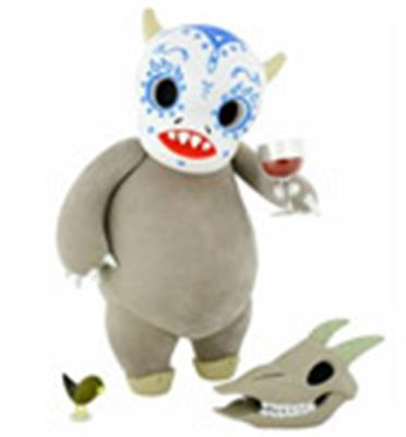Kid Robot Art Figures El Chupacabra (Ghost) Stock