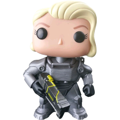 Funko Pop! Games Power Armor (Unmasked) (Female) Icon Thumb