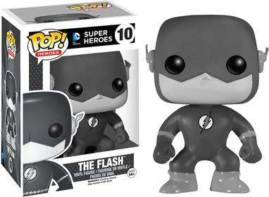 Funko Pop! Heroes The Flash (Black & White) Stock