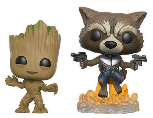 Funko Pop! Marvel Groot & Rocket