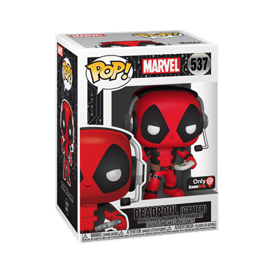 Funko Pop! Marvel Deadpool (Gamer) Stock