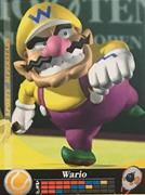 Amiibo Cards Mario Sports Superstars Wario - Tennis