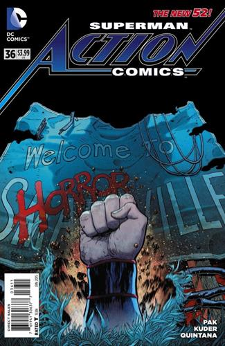 DC Comics Action Comics (2011 - 2016) Action Comics (2011) #36 Icon