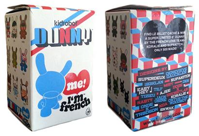 Kid Robot French Dunny Series 2008 TRBdsgn Stock