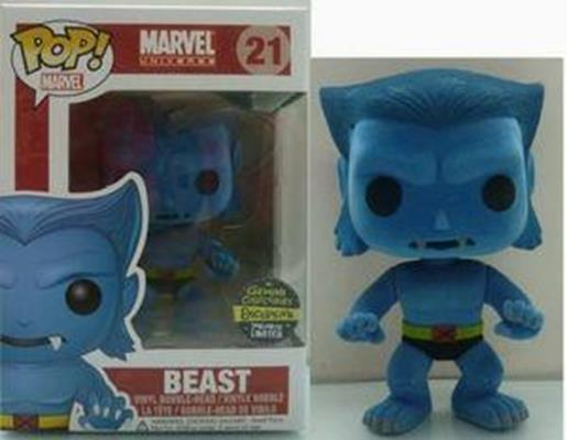 Funko Pop! Marvel Beast (Flocked) Stock