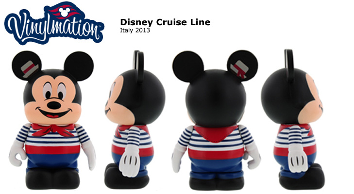 Vinylmation Open And Misc Disney Cruise Line Italy 2013