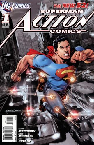DC Comics Action Comics (2011 - 2016) Action Comics (2011) #1D Stock Thumb
