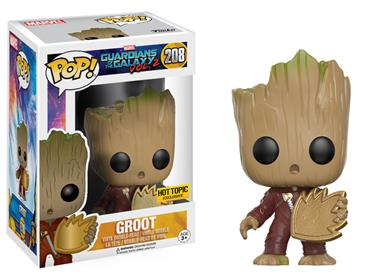 Funko Pop! Marvel Groot (w/ Emblem) Stock