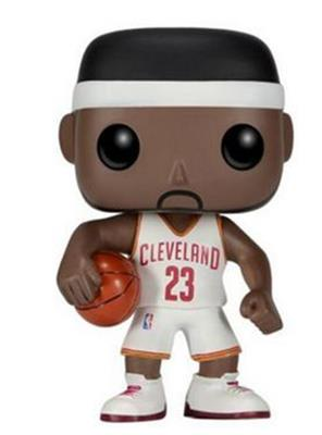 Funko Pop! Sports Lebron James (White Jersey)
