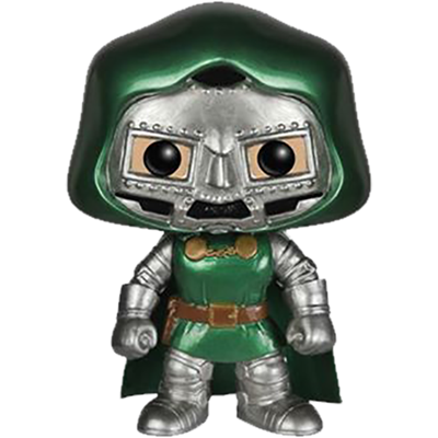 Funko Pop! Marvel Dr. Doom (Metallic)