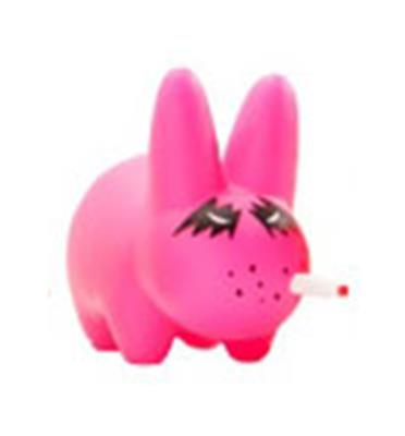 Kid Robot Labbit Packs Stoner Fort: Pink Icon