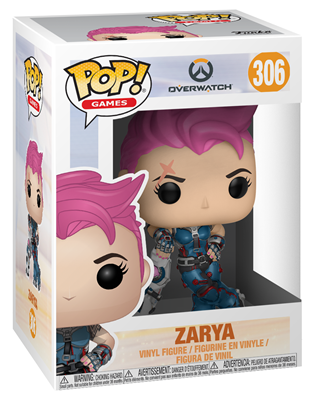 Funko Pop! Games Zarya Stock