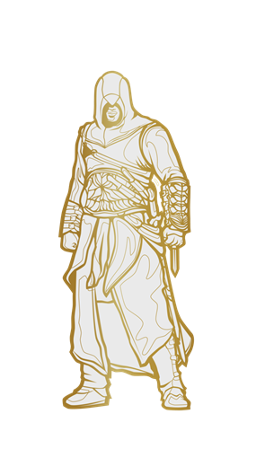 FiGPin Assassin's Creed Altaïr Ultra Rare Icon