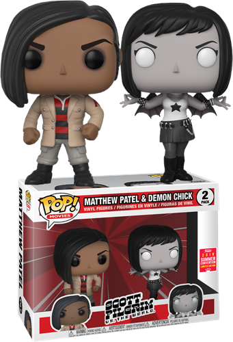 Funko Pop! Movies Matthew Patel & Demon Chick