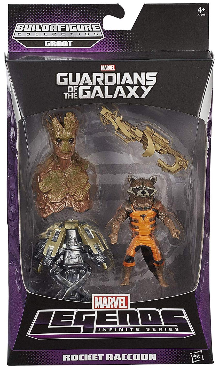 Marvel Legends Groot Series Rocket