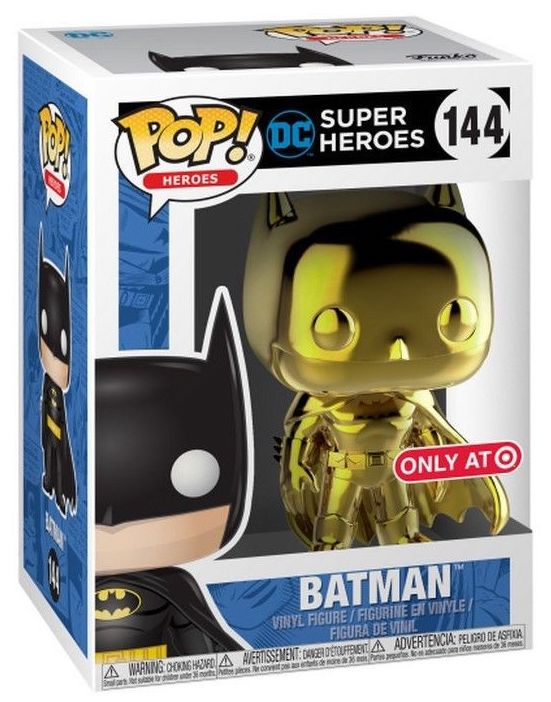 Funko Pop! Heroes Batman (Chrome Gold) Stock