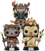 Funko Pop! Star Wars Ewok (3-Pack)